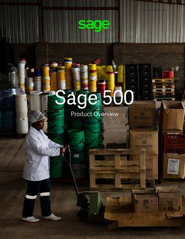 sage500 brochure