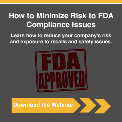 Minimize Risks to FDA Compliance Issues On-Demand Webinar