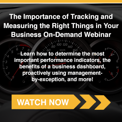 Measuring and Tracking the Right Things In Your Business On-Demand Webinar
