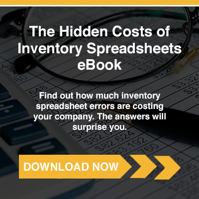 The Hidden Costs of Inventory Spreadsheets eBook