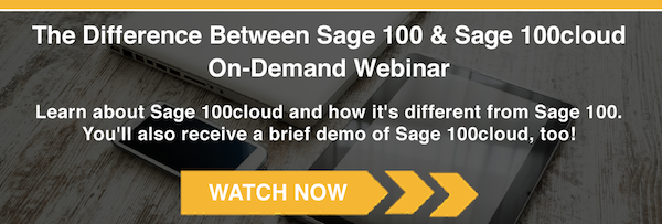 What's the Difference Between Sage 100 & Sage 100cloud?