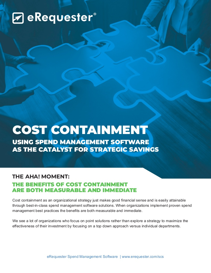eRequester Cost Containment