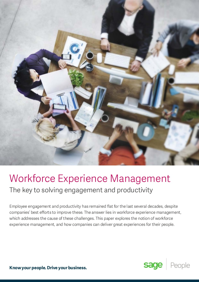 sage people workplace experience guide