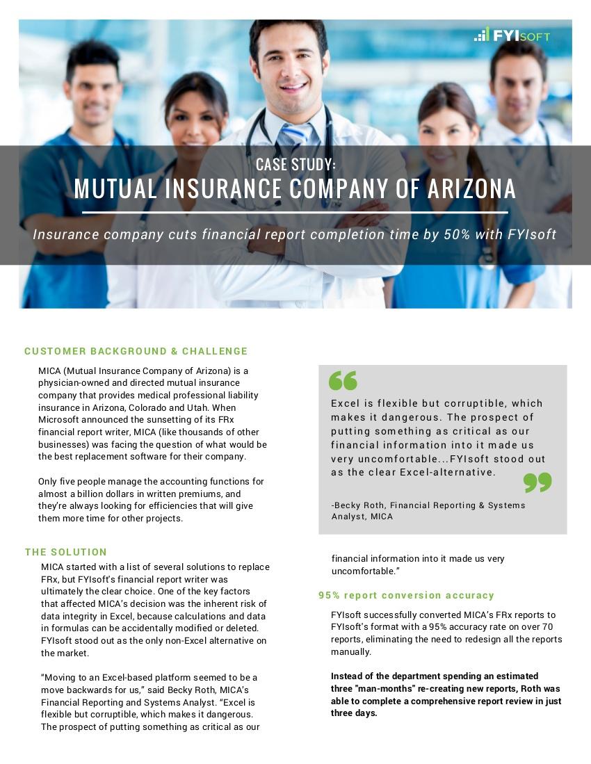 mica insurance case study