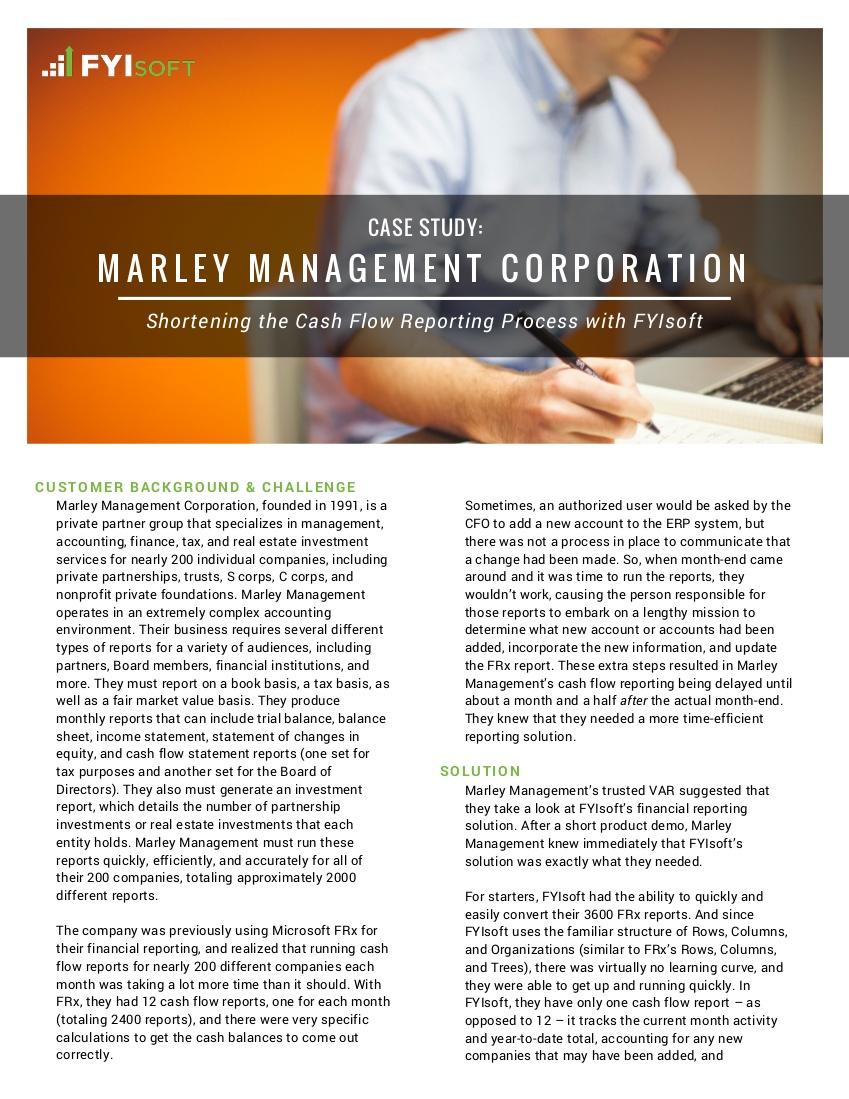 marley management case study