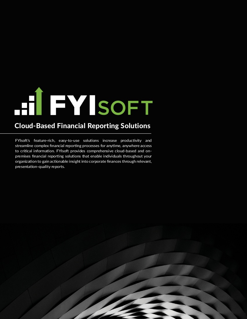 fyisoft corporate brochure