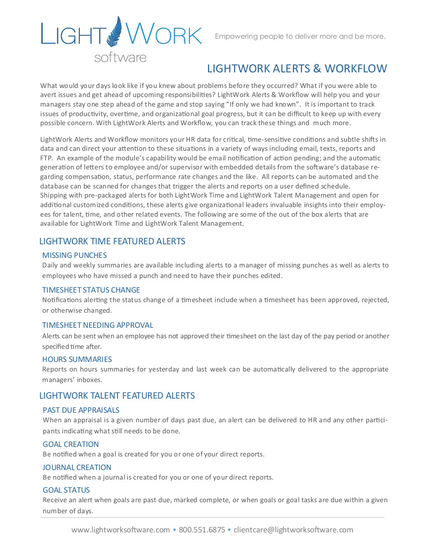 LightWork Alerts Workflow pdf