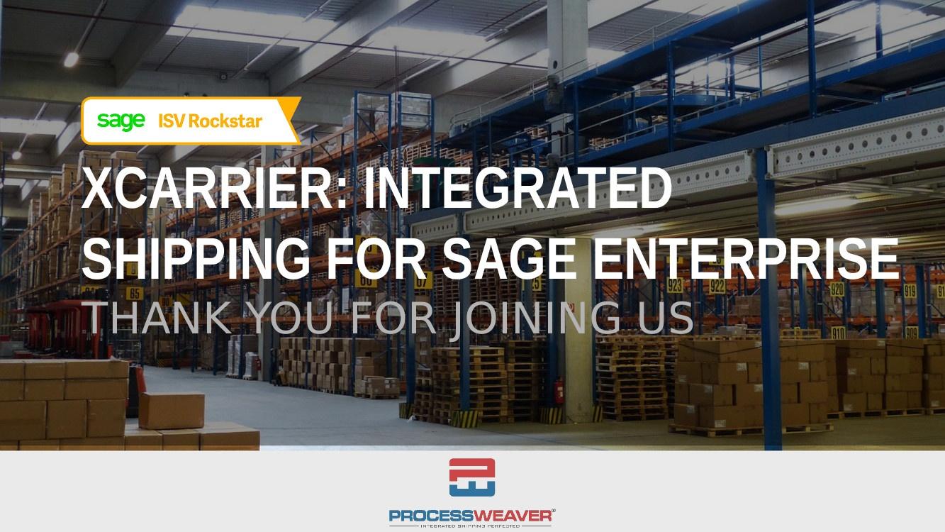 TrueCommerce Sage 100 Brochure 2018
