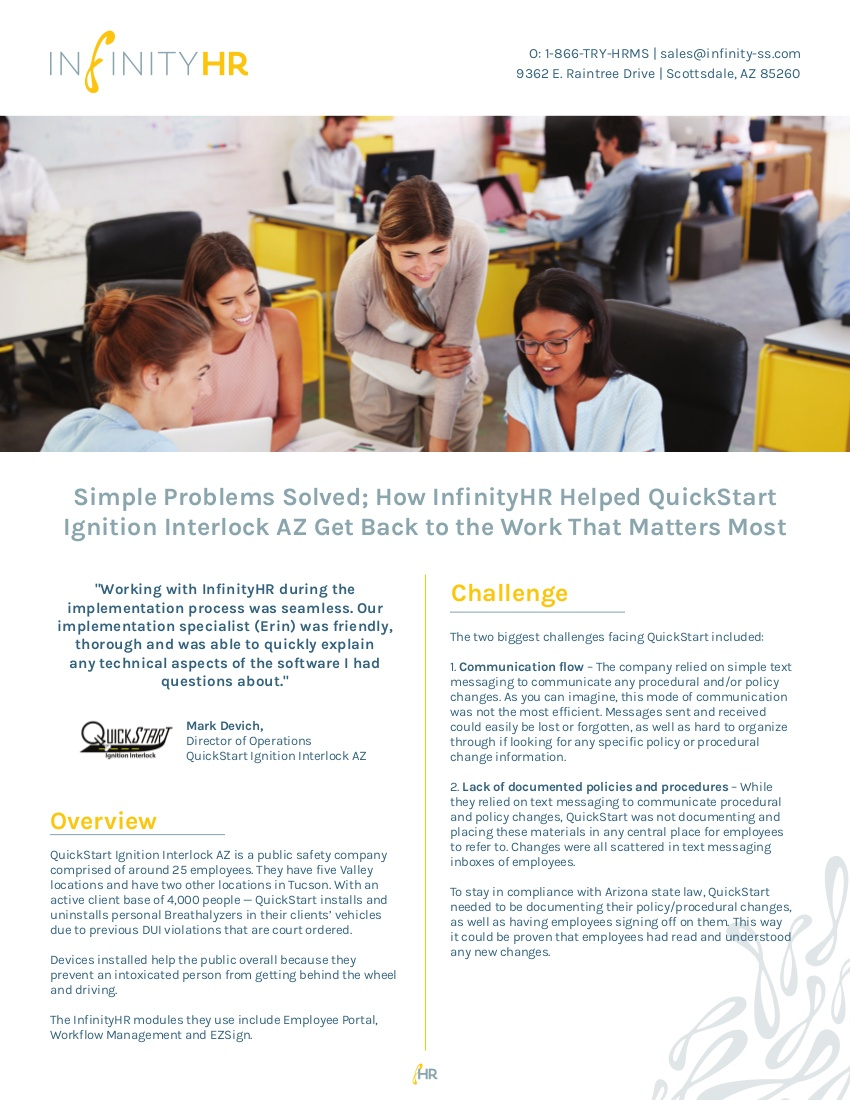 Quickstart Interlock Case Study