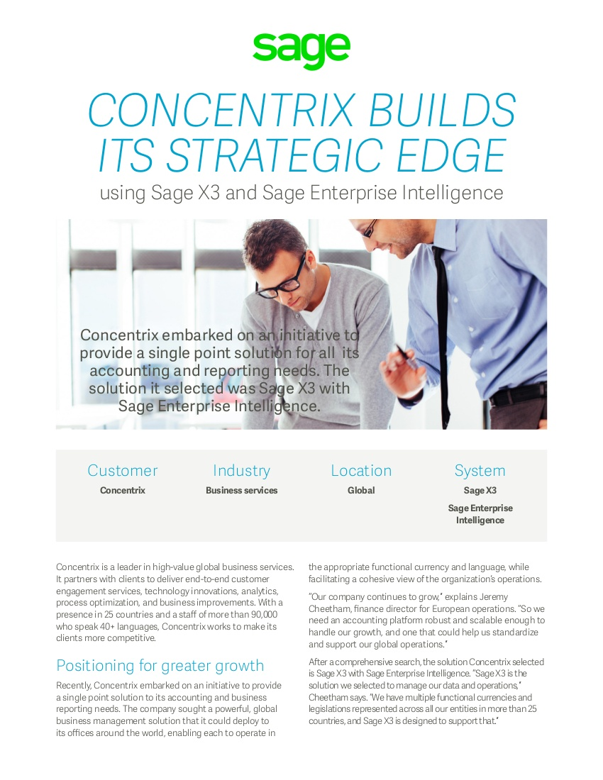 Concentrix success story