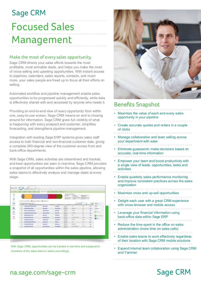 sage crm for sales management