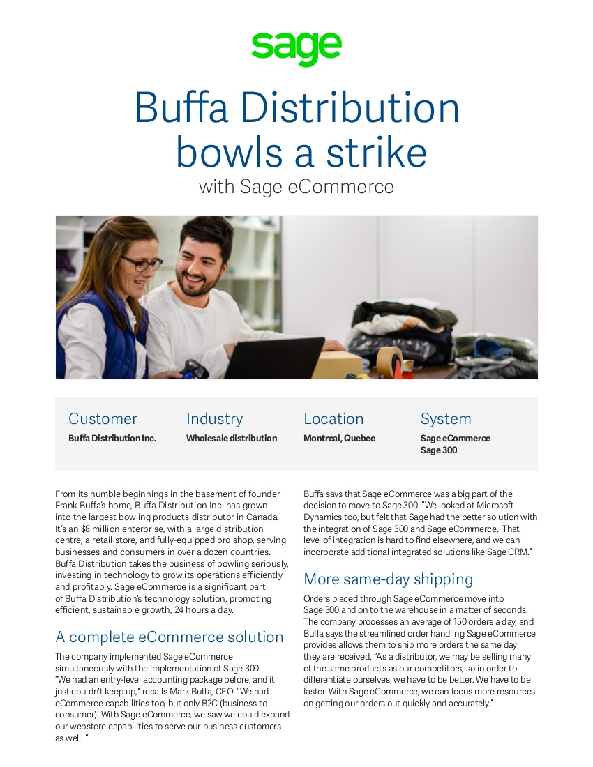sage buffa success story pdf