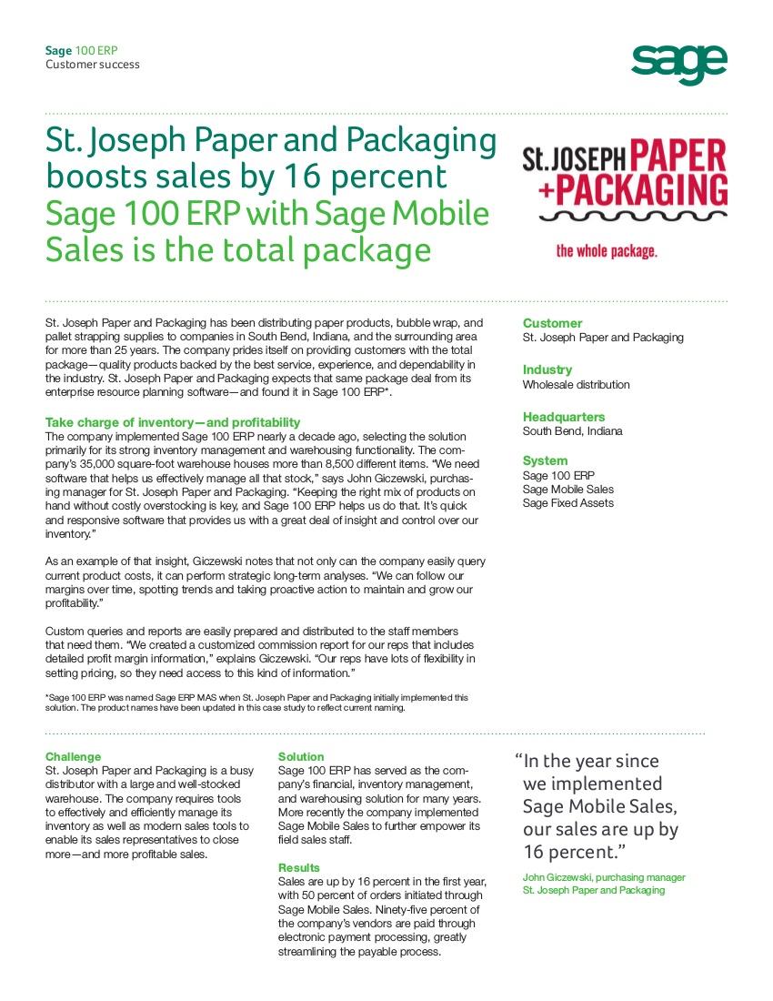 saint joseph case study