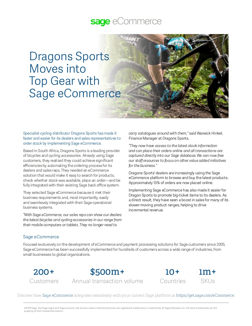 dragon sports case study