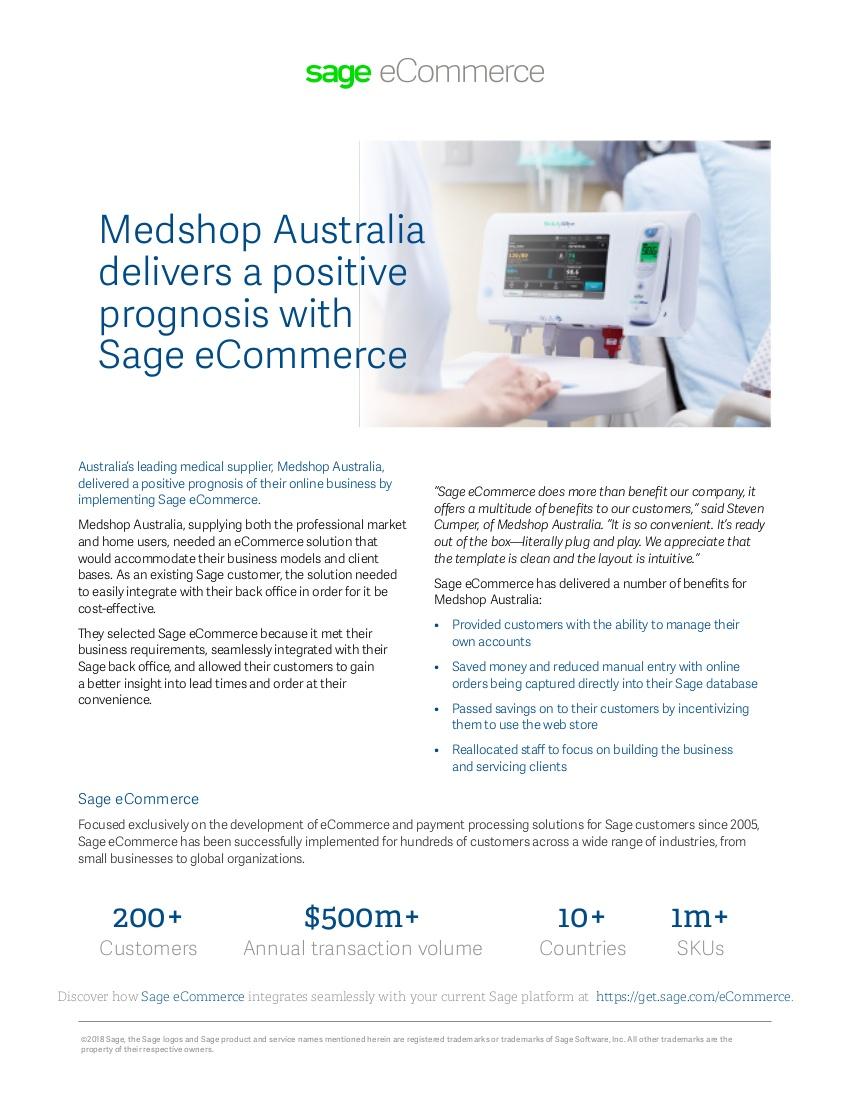 medshop australia case study