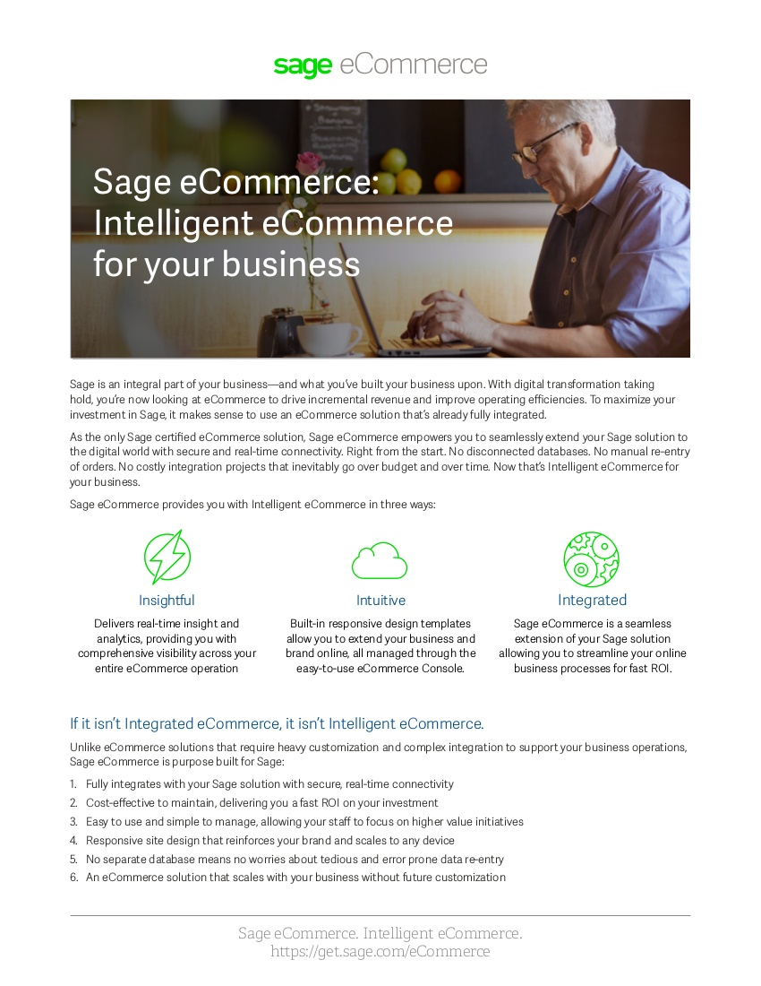 sage ecommerce overview pdf