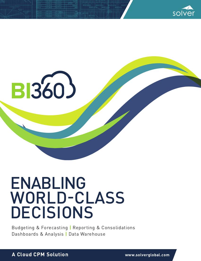Solver bi360 brochure
